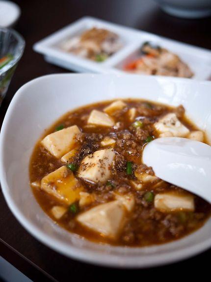 祥瑞 ランチ 麻婆豆腐