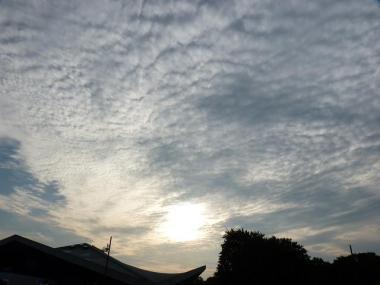 こっちもうろこ雲。