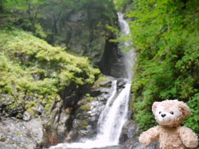 大滝 と ダッフィー