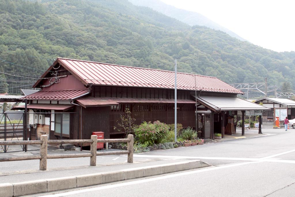 JR奈良井駅駅舎
