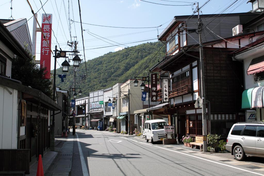 木曽福島昭和の町並み