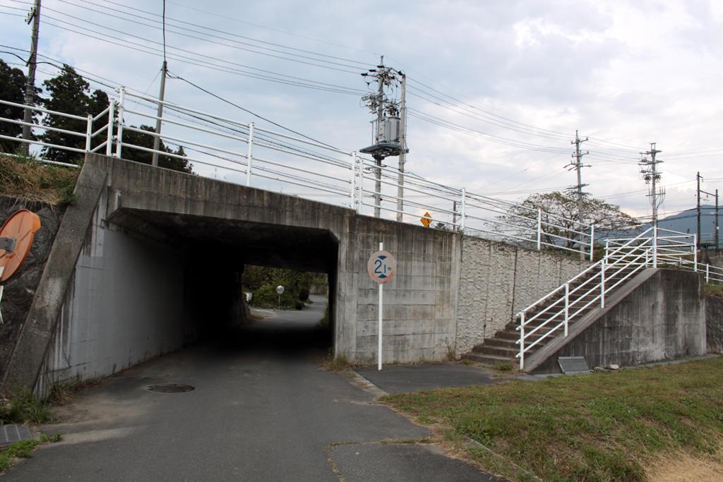 田切駅付近