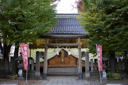 秋葉神社本殿