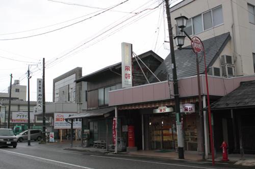 五泉市本町のパンの栄軒前の丸ポスト 2