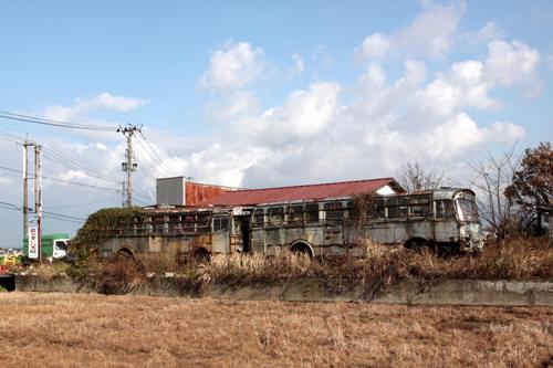 五泉市の廃バス