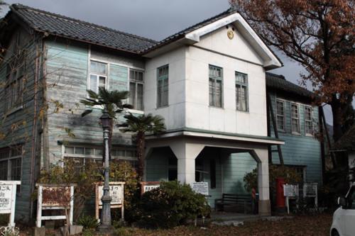 旧村松駅駅舎