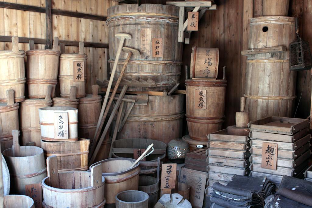 昔の酒造道具