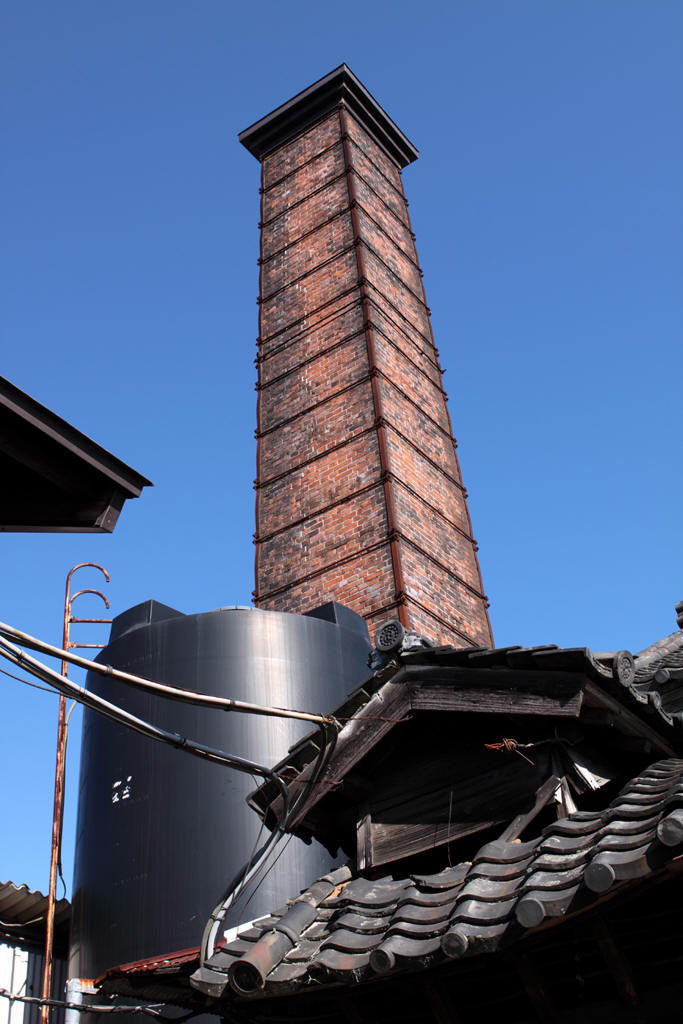 煉瓦製の煙突