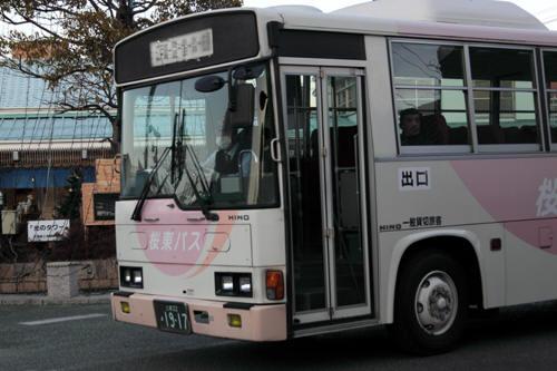 佐原駅前の桜東バス
