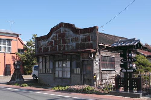大多喜町新丁の渋い建物