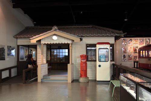プラザロコ内の駅のセット