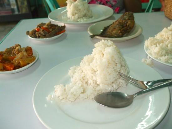 Bolinao food