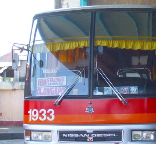 Olongapo aircon bus