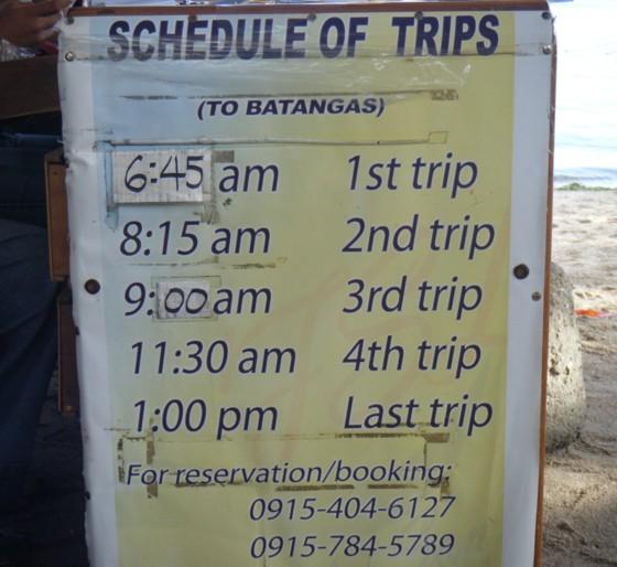 banka schedule