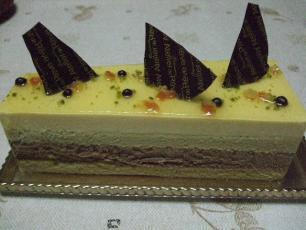 白金ケーキ