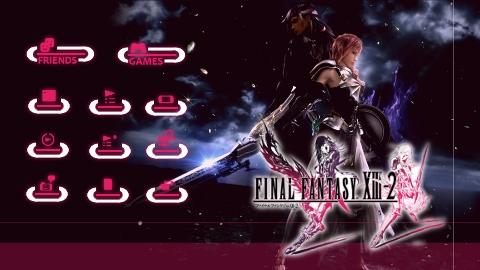 FFXIII-2 PS3テーマ プレイメ