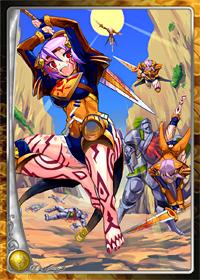 太陽王国の超力分身兵