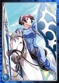 魔法王国の女性馬騎士