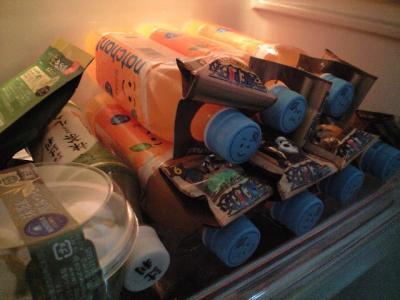 冷蔵庫が…