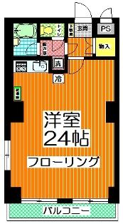 文京ハイツ 407号室