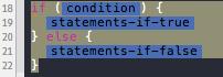 Xcode4 CodeSnippetLibrary - SelectedCode