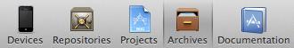 xcode4_organizer_menu