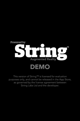 String 起動時ロゴ