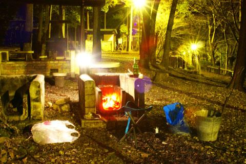 県民の森キャンプ2