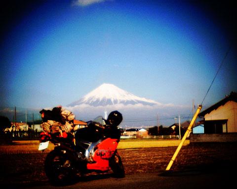 富士山とRS250