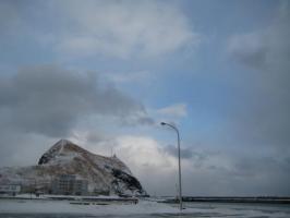 冬のぺシ岬