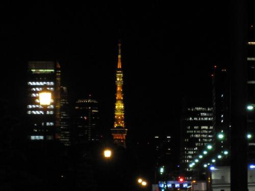 東京タワー縮小