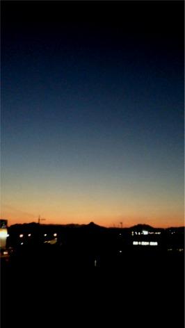 2011.9.6の夕焼け
