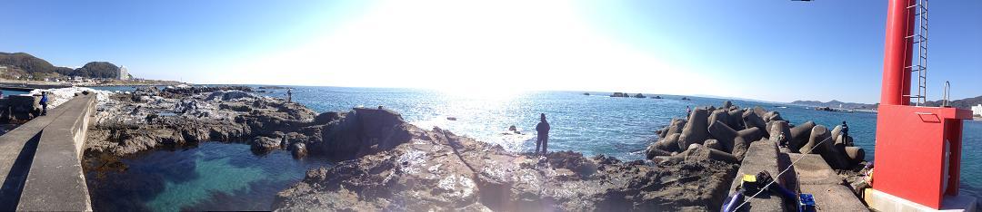 20130210江見漁港パノラマ