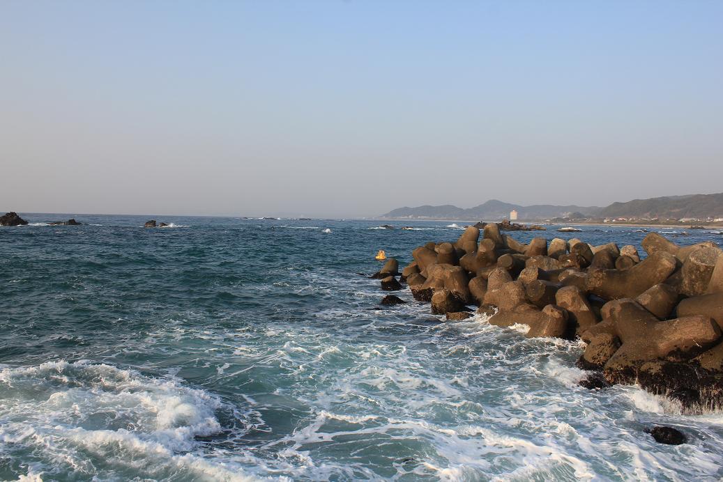 江見港釣り座からの視界2