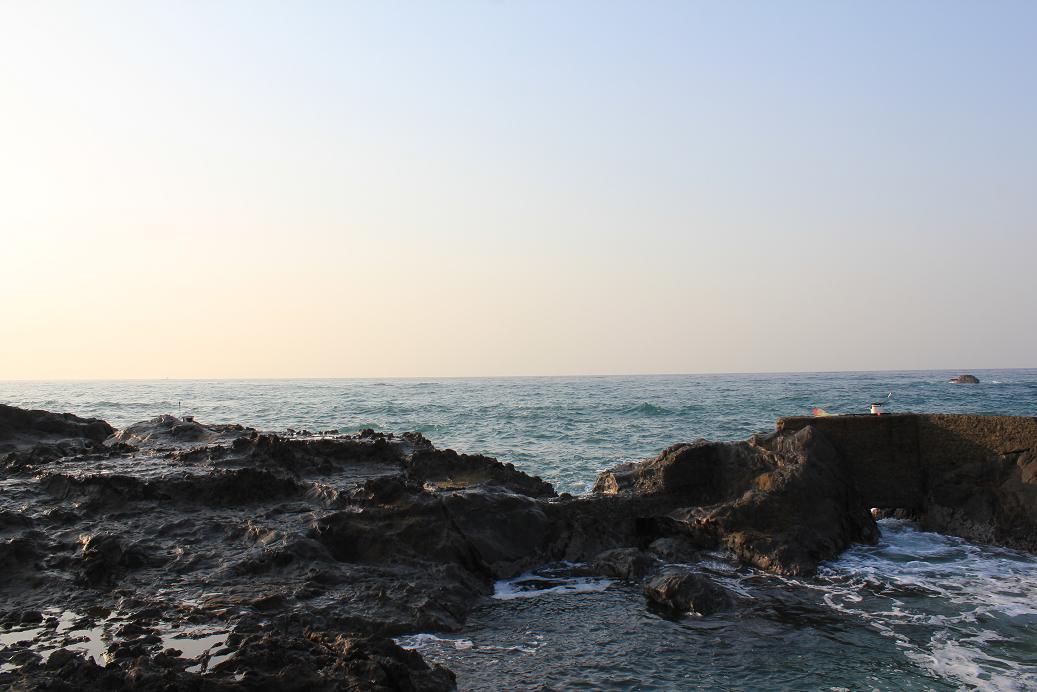 江見港釣り座2