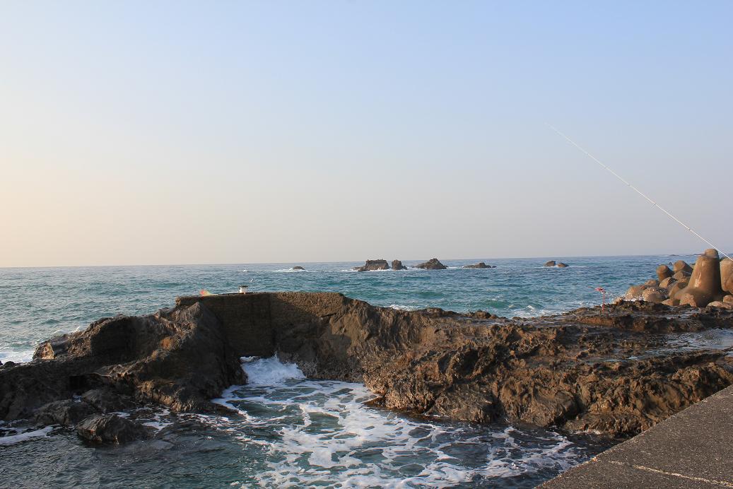 江見港釣り座1