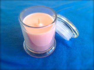 aroma candle geranium