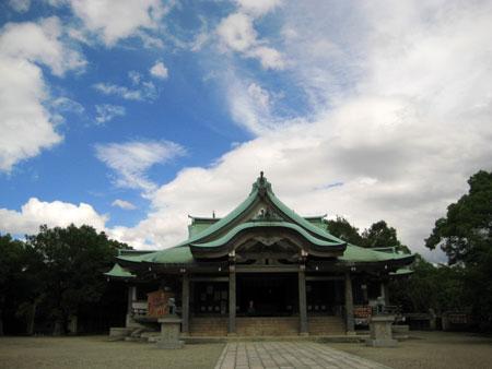 豊国神社 秀吉の銅像がすごかった。。