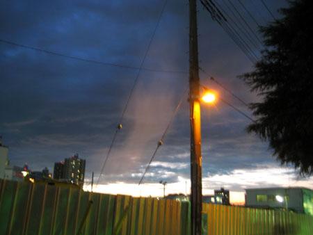 薄い雲があったのか もやなのか