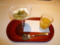 湯楽 朝デザート