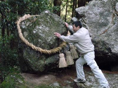 ゴトゴト石 押す