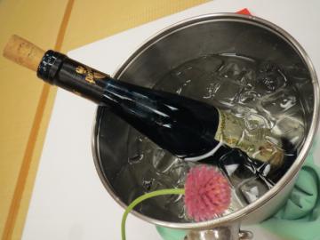 宿泊プランについていたワイン