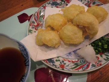 鱧の天ぷら 630円。美味しかった~!