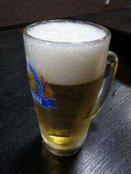 生ビール(中) 470円