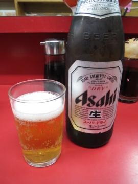 ビール(中) 500円