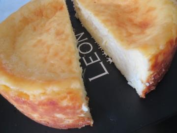 レオンのチーズケーキ
