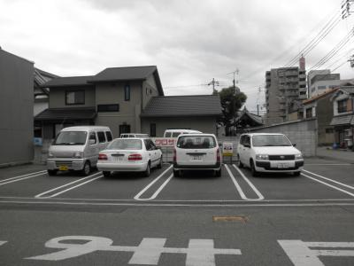ashuna駐車場
