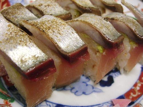 炙り鯖鮨(焼さば寿司)