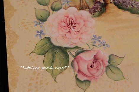 ペイントの薔薇