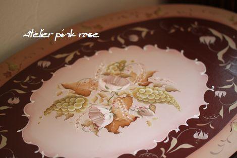 17 楕円のテーブル